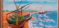 Exposition de peintures de Nicole Reiter