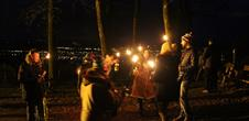 Torchlight procession in Saint-Jean-Saverne