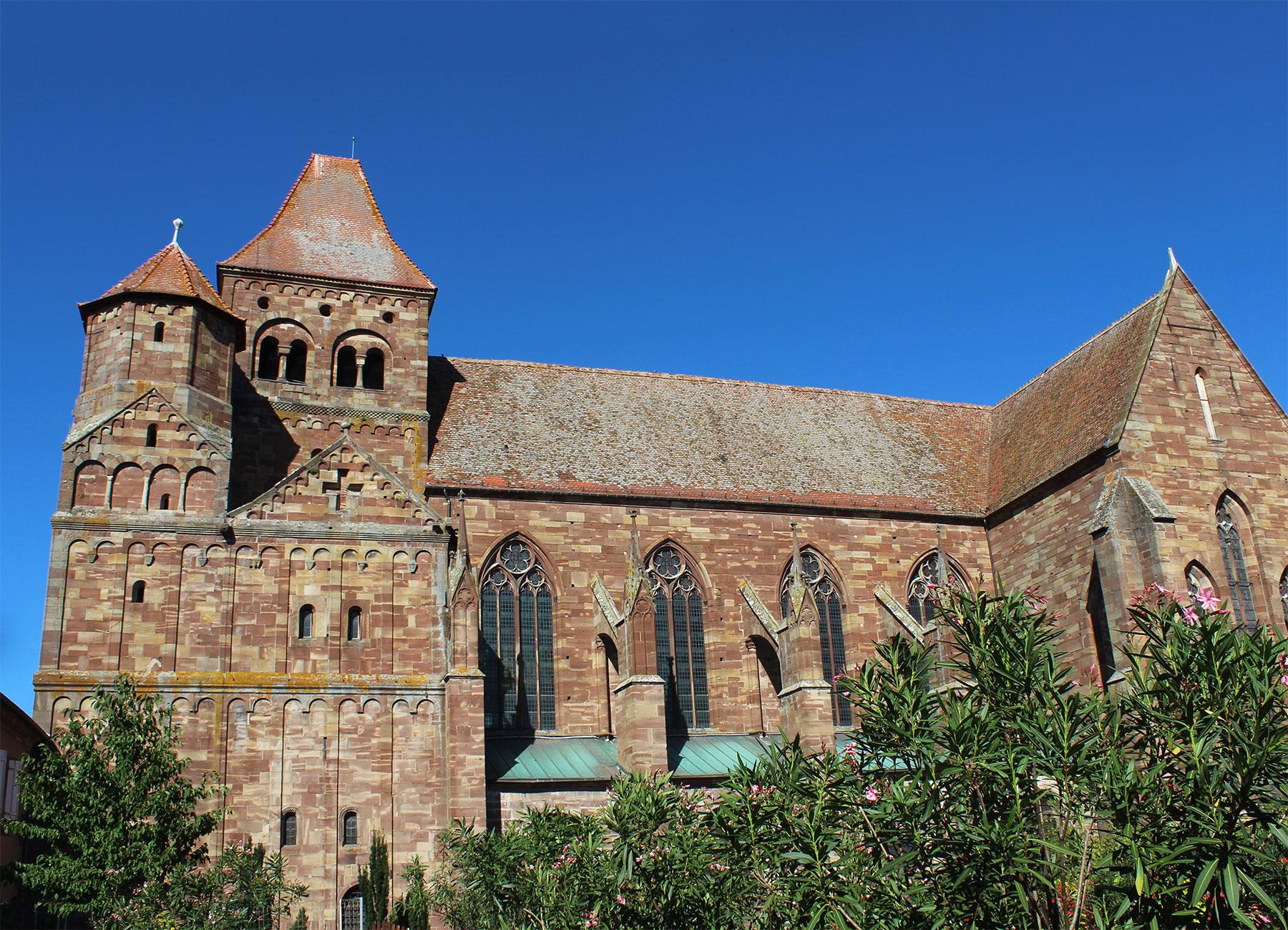 Abbey Saint-Etienne