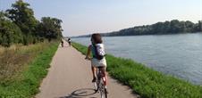 Réseau transfrontalier de pistes cyclables plaine rhénane