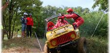 Geländefahrzeug Trial Meisterschaft