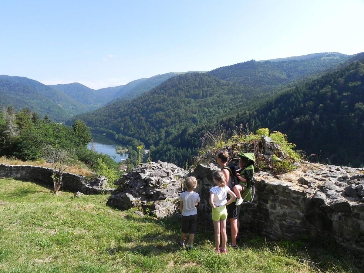 Chantier participatif au lac de Kruth-Wildenstein