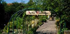 Eglise Saint-Trophine- Jardin monastique
