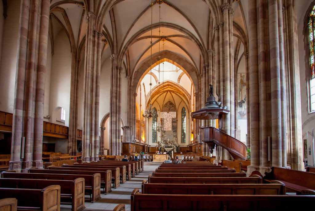 L Eglise Saint Thomas Strasbourg