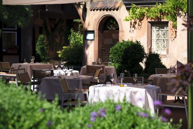 Restaurant le buerehiesel strasbourg - Restaurant jardin de l orangerie strasbourg ...