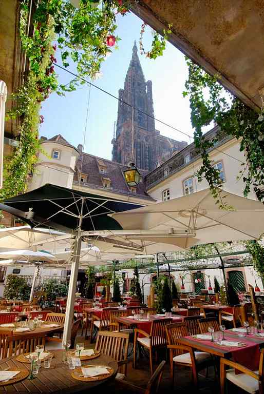 Restaurant au dauphin strasbourg for Reso strasbourg