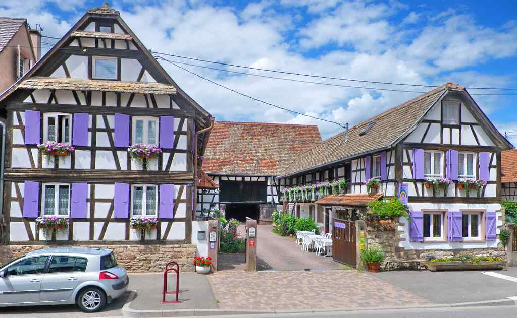 Chambres d 39 h tes mme schadt blaesheim for Chambre dhote alsace
