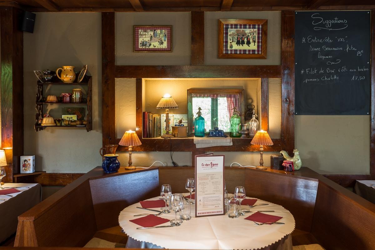 Restaurant ce cher hans vendenheim for Restaurant la maison rouge chambery