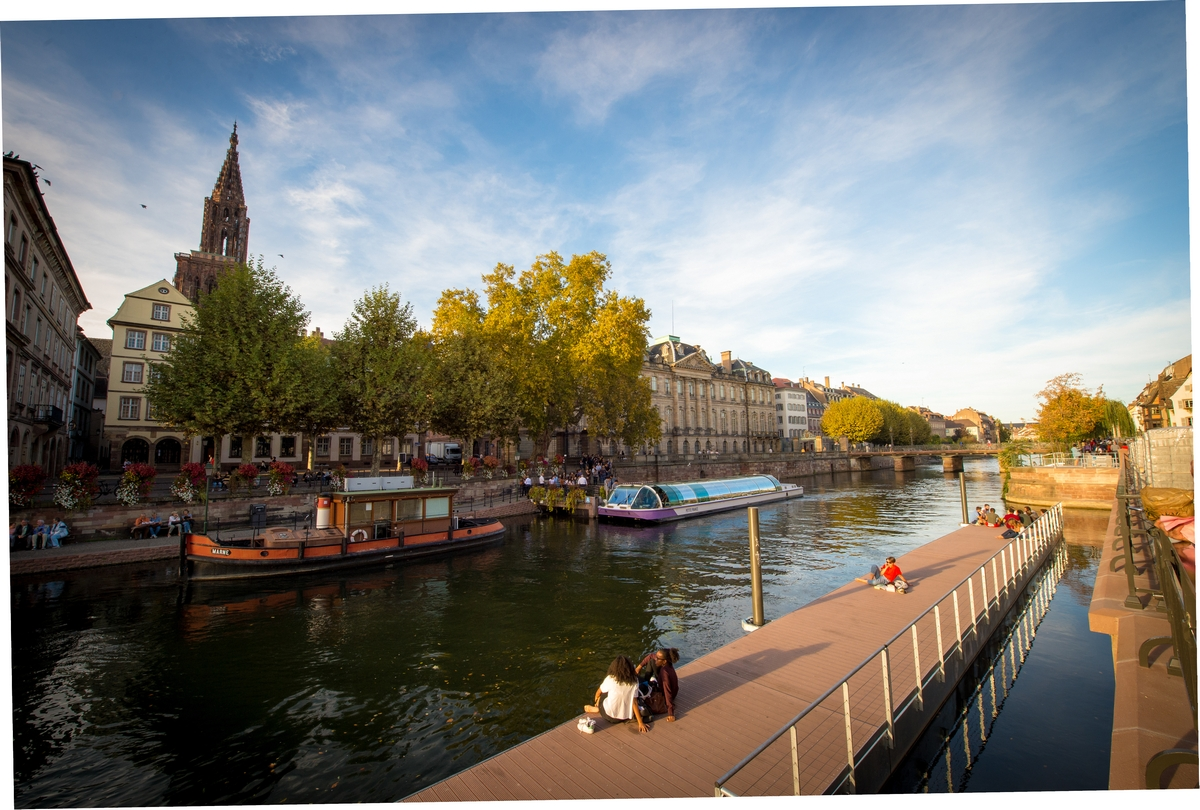 Batorama, découverte de Strasbourg en bateau