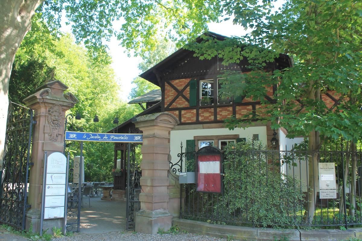 Restaurant le jardin du pourtal s strasbourg - Restaurant jardin de l orangerie strasbourg ...