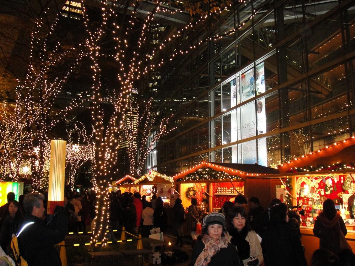 2009 et 2010 : Le Marché de Noël de Strasbourg à Tokyo