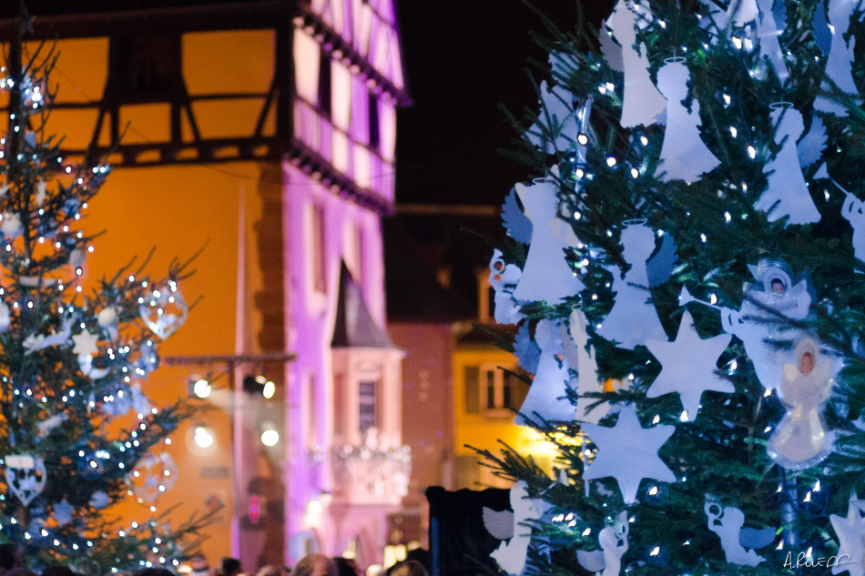 Christmas market in Thann