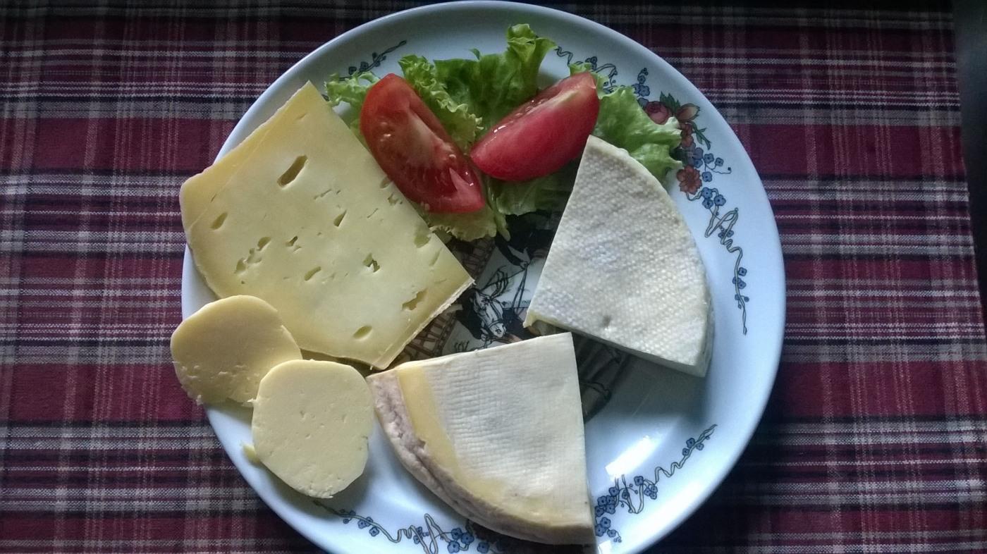 Assiette de fromages © Ferme Auberge du Kohlschlag
