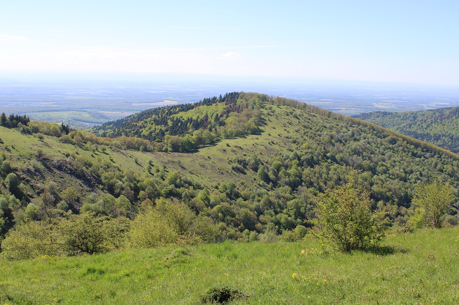 The Thannerhubel in Bourbach-le-Haut
