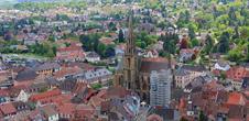 Centre historique de Thann et l'Engelbourg