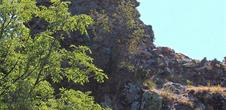 The ruins of Herrenfluh Castle