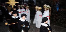 St. Lucie's Day, festival of light