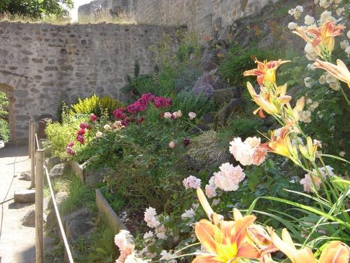 Les jardins du château du Hohlandsbourg