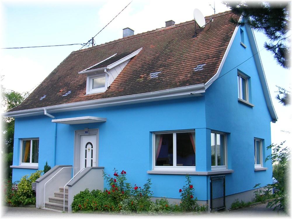 Chambres D 39 H Tes La Maison Bleue Dieffenbach Au Val