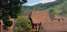 Albé, typical village