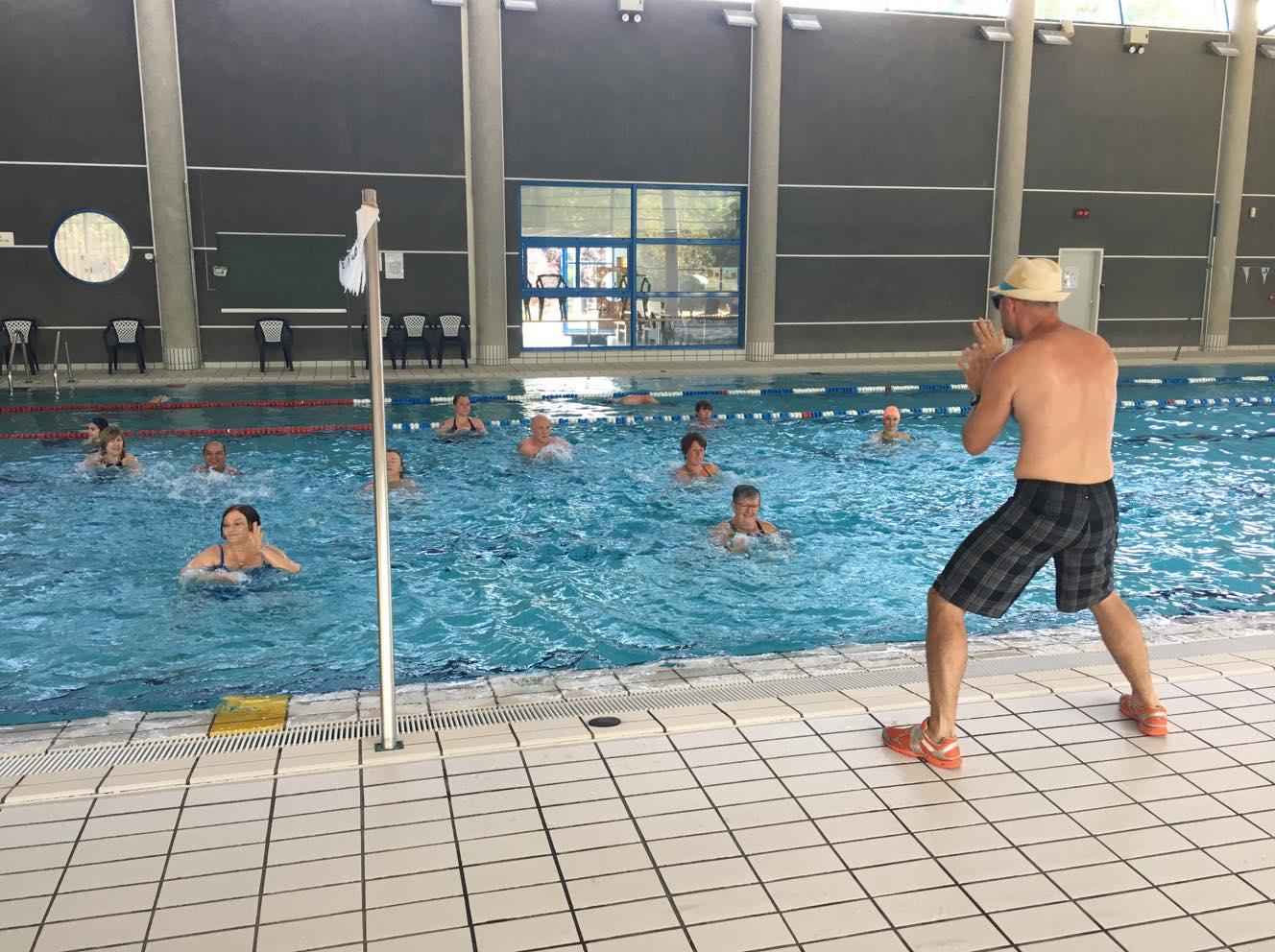 Séance AquaFitness renforcement musculaire