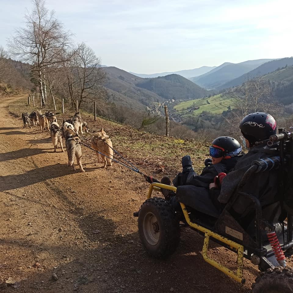Manouk Evasion, balade en chiens de traineau