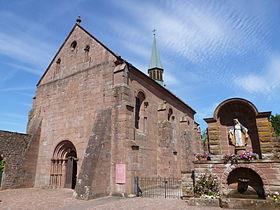 Chapelle d 39 obersteigen wangenbourg engenthal - Wangenbourg engenthal office tourisme ...