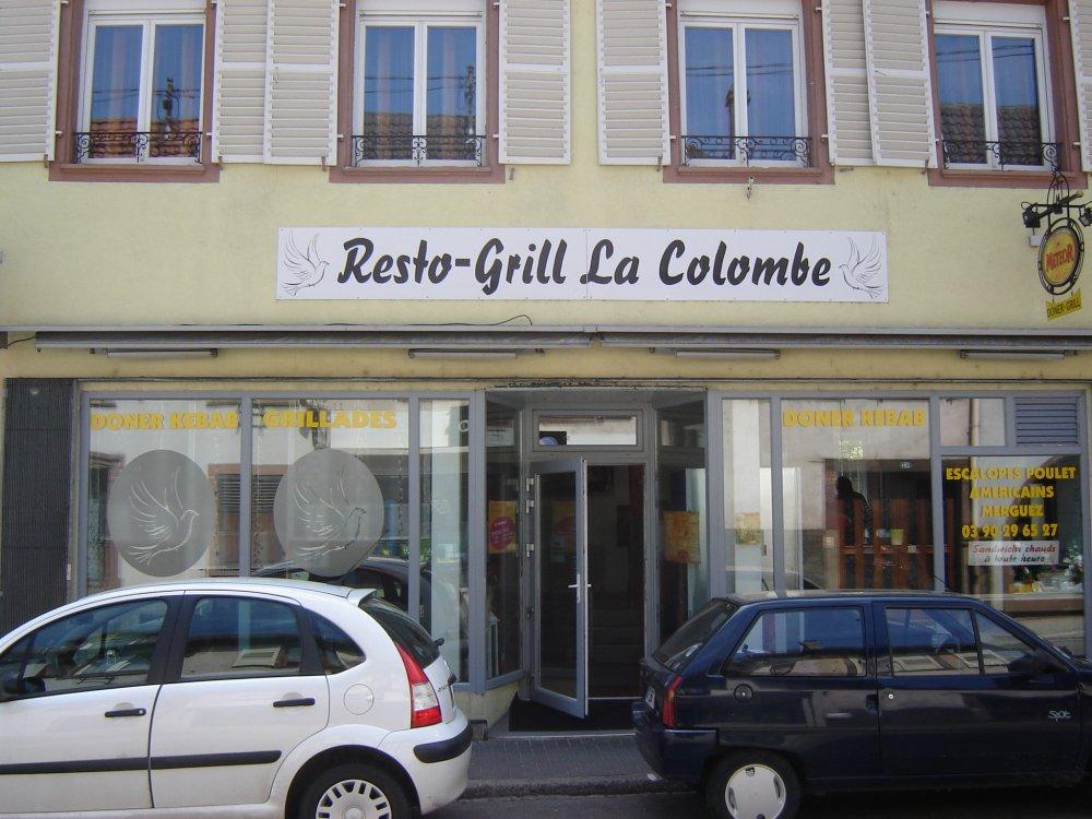 Restaurant - Grill - Döner Kebab La Colombe