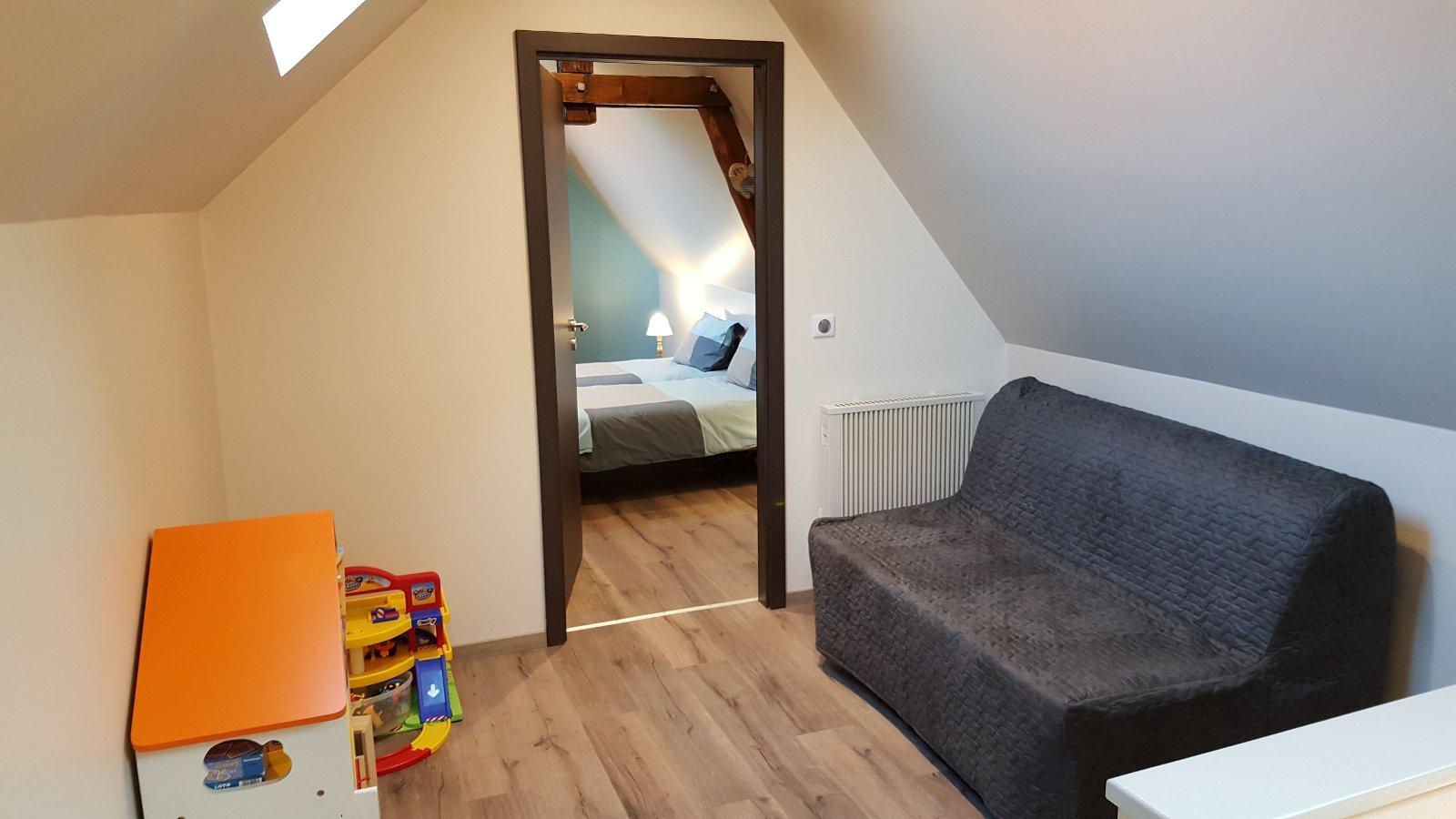 Mezzanine avec lit BZ