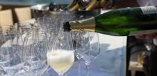 Festival of sparkling Cremant wine
